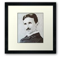 NikolaTesla Framed Print