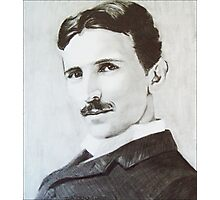 NikolaTesla Photographic Print