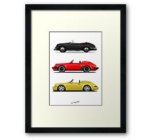 Speedsters Framed Print