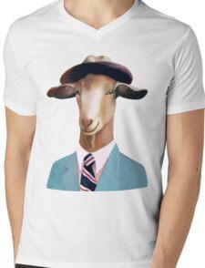 Goat Mens V-Neck T-Shirt