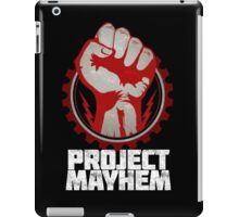 Fight Club Project Mayhem Design iPad Case/Skin