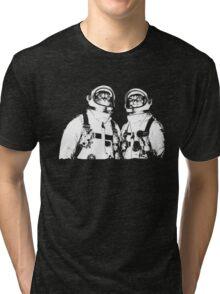 Astronaut cats Tri-blend T-Shirt