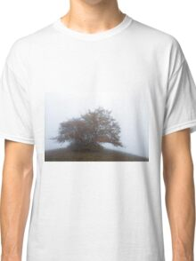 So much morning fog on Monte San Vicino Classic T-Shirt
