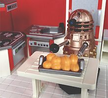 Dalek Baking by livrose