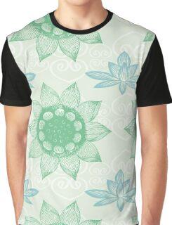 Om Design,lotus flower, Graphic T-Shirt