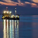 Suction dredger by Adri  Padmos