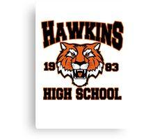 Hawkins high 1983 Canvas Print