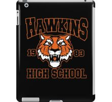 Hawkins high 1983 iPad Case/Skin