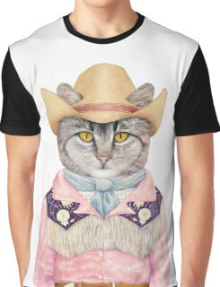 Country Cat Graphic T-Shirt