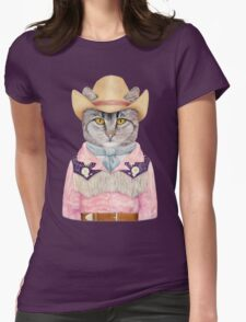 Country Cat Womens Fitted T-Shirt