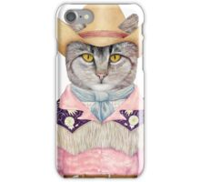 Country Cat iPhone Case/Skin