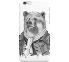 Reginald. B. Bearsworth (A Gentleman Bear) iPhone Case/Skin