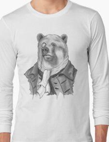 Reginald. B. Bearsworth (A Gentleman Bear) Long Sleeve T-Shirt