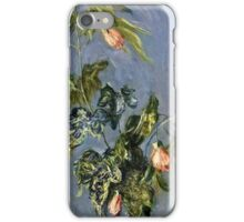 Claude Monet - Flowers In A Vase 1888  iPhone Case/Skin