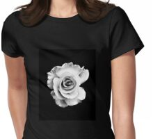 Monochrome Maze Womens Fitted T-Shirt