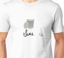 We're all trash cans on the inside. Unisex T-Shirt