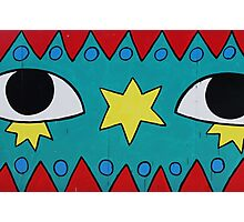 Circus Eyes Graffiti Photographic Print