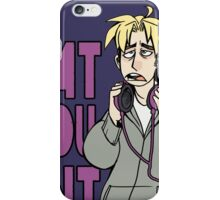 Jonathan Quote iPhone Case/Skin