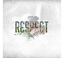 RESPECT Animals Photographic Print