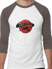 Space Cowboy - Red Sun Men's Baseball ¾ T-Shirt
