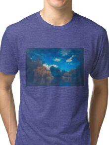 Blue Misty Water Tri-blend T-Shirt