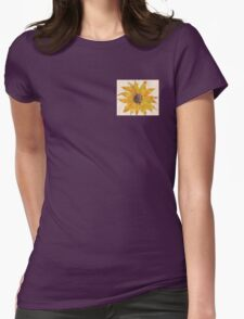 Sunflower power Womens Fitted T-Shirt