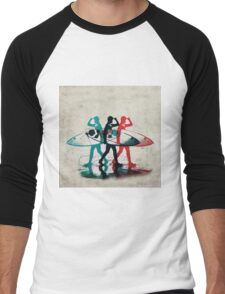 Surfer No.22 Men's Baseball ¾ T-Shirt