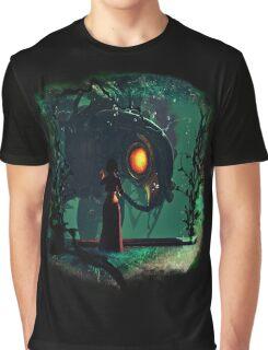 Bioshock Infinite Songbird & Elizabeth Graphic T-Shirt