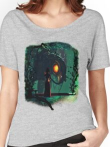 Bioshock Infinite Songbird & Elizabeth Women's Relaxed Fit T-Shirt