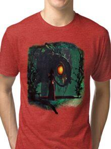 Bioshock Infinite Songbird & Elizabeth Tri-blend T-Shirt