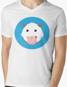 Cute Poro Vector- League Of Legends Mens V-Neck T-Shirt