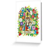 Saint Nazareth -  N.Sra de Nazaré Greeting Card