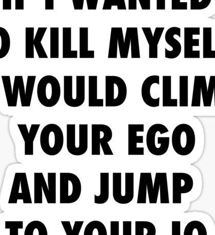 Climb and Jump Sticker