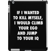 Climb and Jump iPad Case/Skin