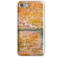Claude Monet - Charing Cross Bridge in London ( 1902)  iPhone Case/Skin