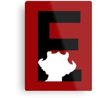 E is for Empress of the Racnoss Metal Print