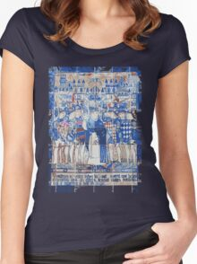 Valencia's ceramics Knights Women's Fitted Scoop T-Shirt