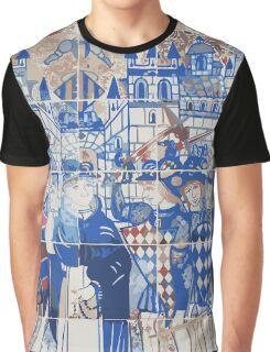 Valencia's ceramics Knights Graphic T-Shirt