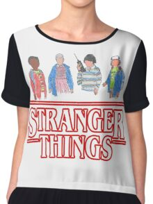 STRANGER THINGS - the Friends Chiffon Top