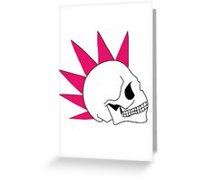 Me and my Mohawk  Greeting Card