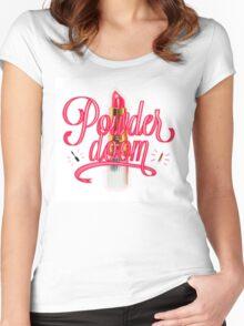 Powder Doom Women's Fitted Scoop T-Shirt