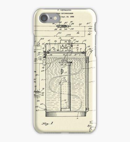 Fire extinguisher-1927 iPhone Case/Skin