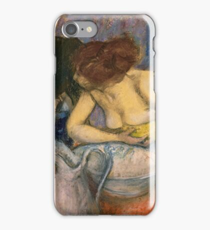 Edgar Degas - The Toilet iPhone Case/Skin