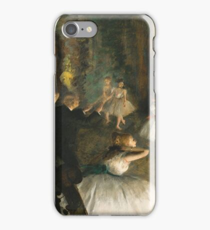 Edgar Degas - The Rehearsal Of The Ballet Onstage 1874 iPhone Case/Skin