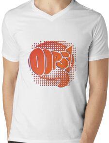 Oops! Mens V-Neck T-Shirt