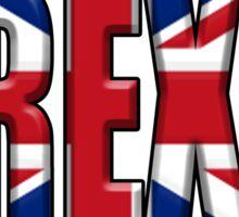 BREXIT, UK, Union Jack, Great Britain, Pure & Simple Sticker
