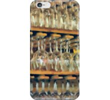 Drinks On The House in Smoky Gold iPhone Case/Skin