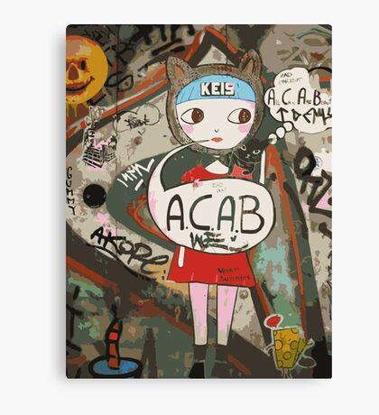 Barcelona's Graffiti Canvas Print