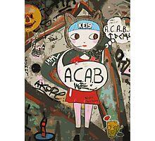 Barcelona's Graffiti Photographic Print