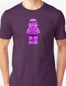 Lego Storm Trooper in Purple Unisex T-Shirt